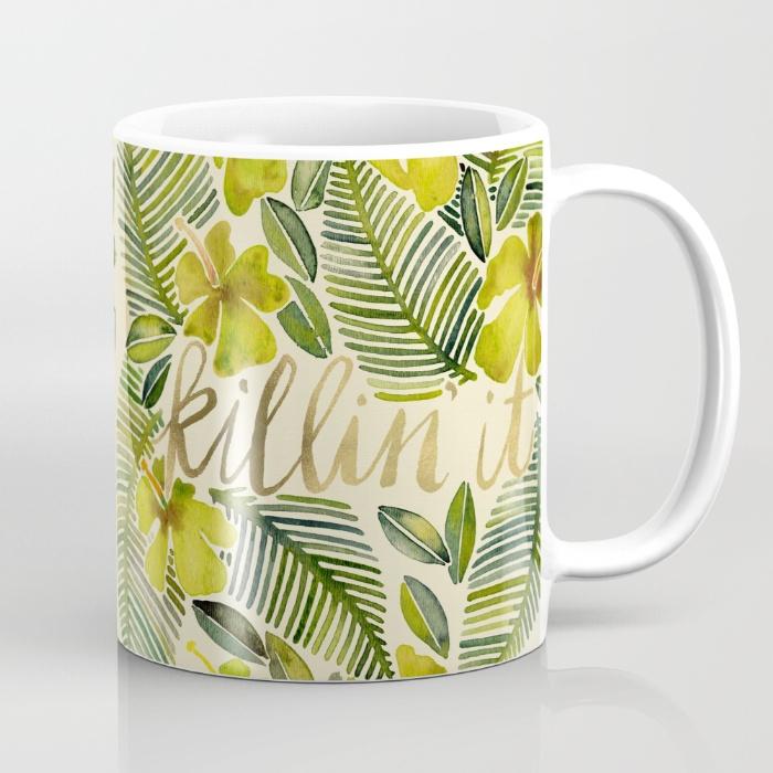 Killin' It – Tropical Yellow / Mug • 15–$18