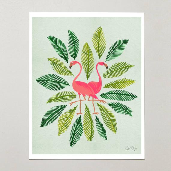 Flamingos • $15