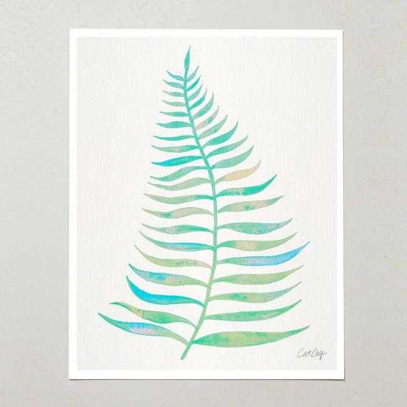 Palm Leaf • $15