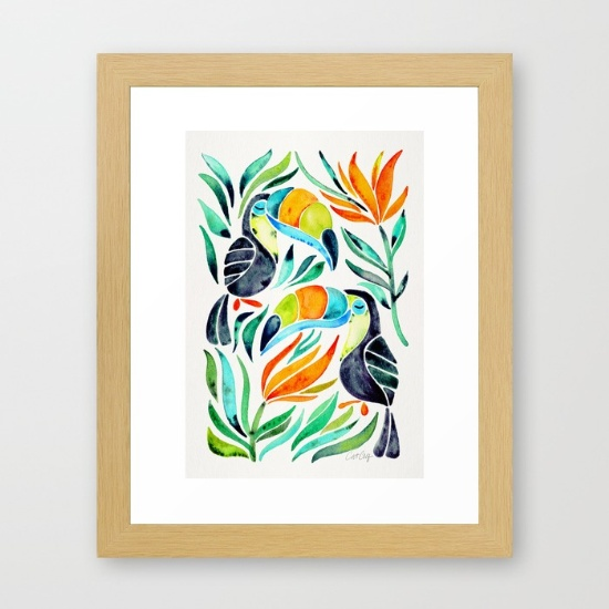 Framed Art Print  •  $35–$135
