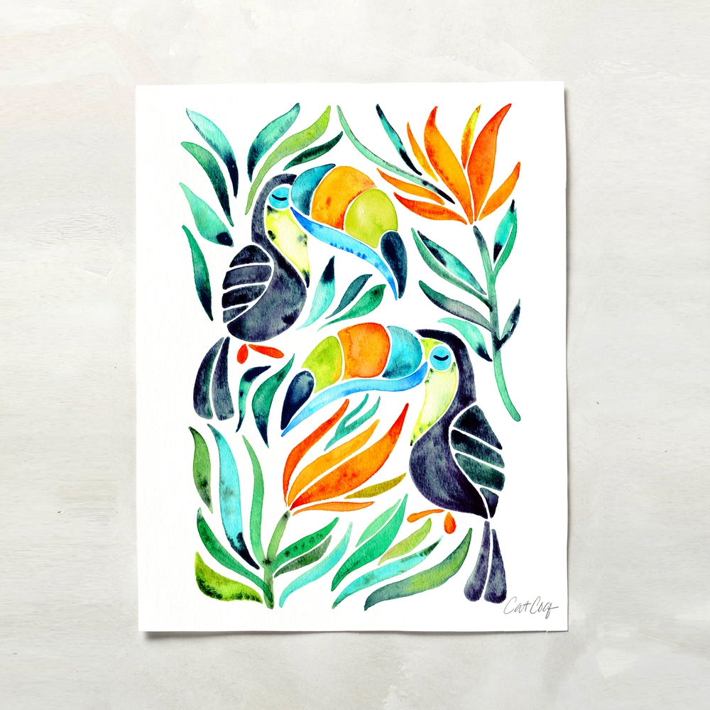 Tropical Toucans available here.