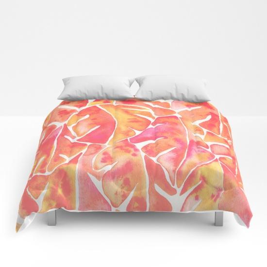 Split Leaf Philodendron • comforter $89–$129