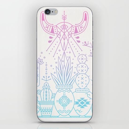 Santa Fe Garden  • phone skin $15