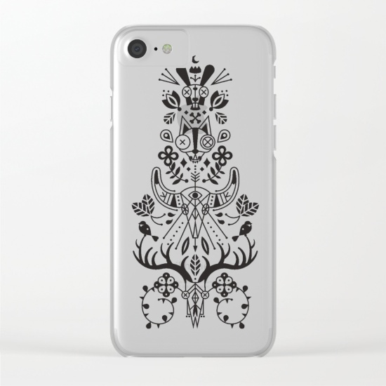 La Vie + La Mort   •  clear phone case $35–$38