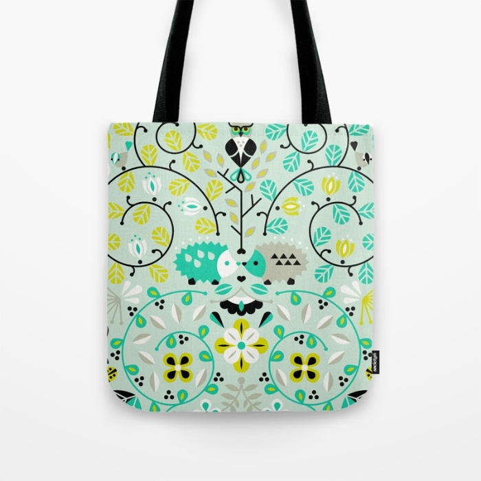 Hedgehog Lovers  •  tote bag $18–$24