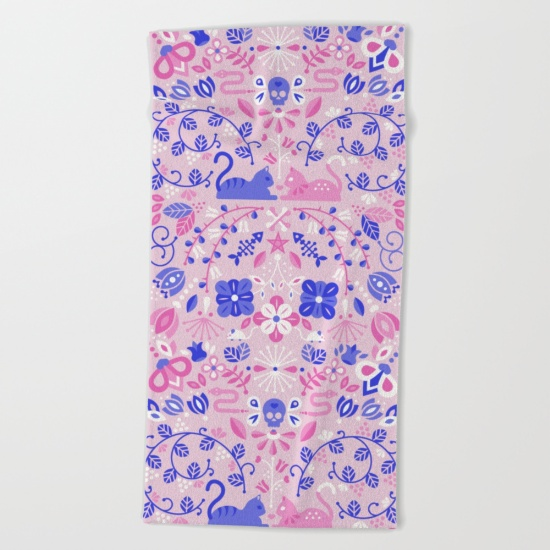 Kitten Lovers   •  beach towel $38