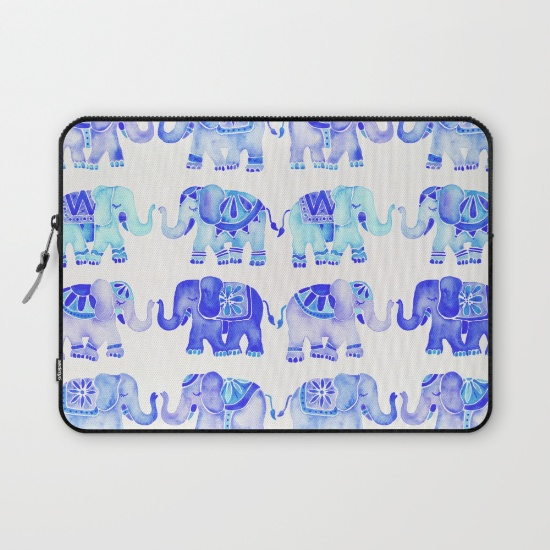 Blue Elephants  •  laptop sleeve $36–$39