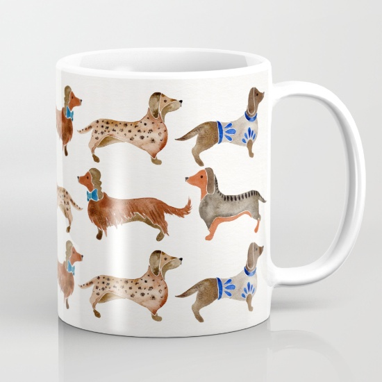 Dachshunds  •  mug $15–$18