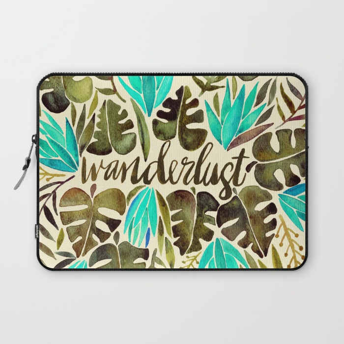 Wanderlust  •  laptop sleeve $36–$39