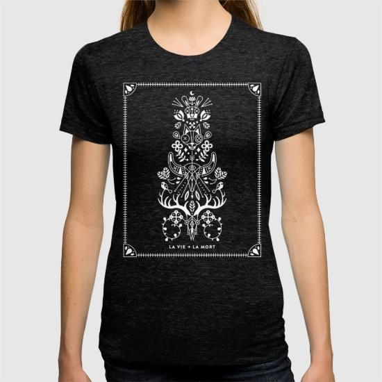 La Vie + La Mort • t-shirt $24
