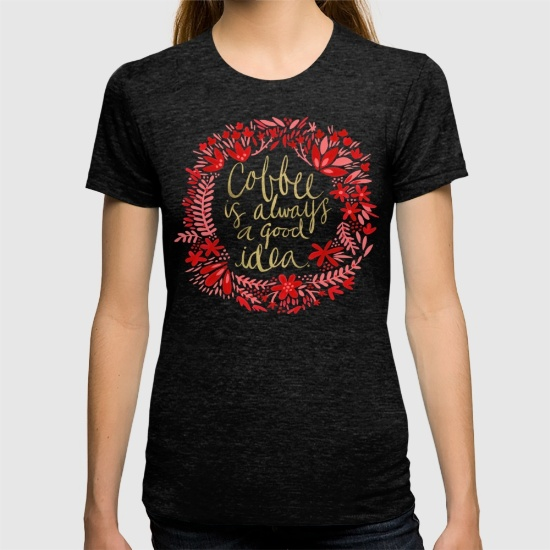 Coffee & Wine  •  t-shirt $24