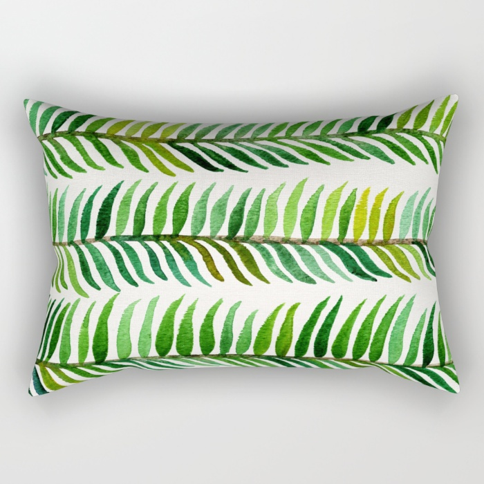 Seaweed  •  rectangular pillow $27–$39