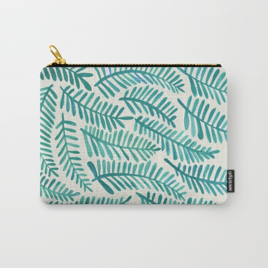 Fronds  •  carry-all pouch $14–$24