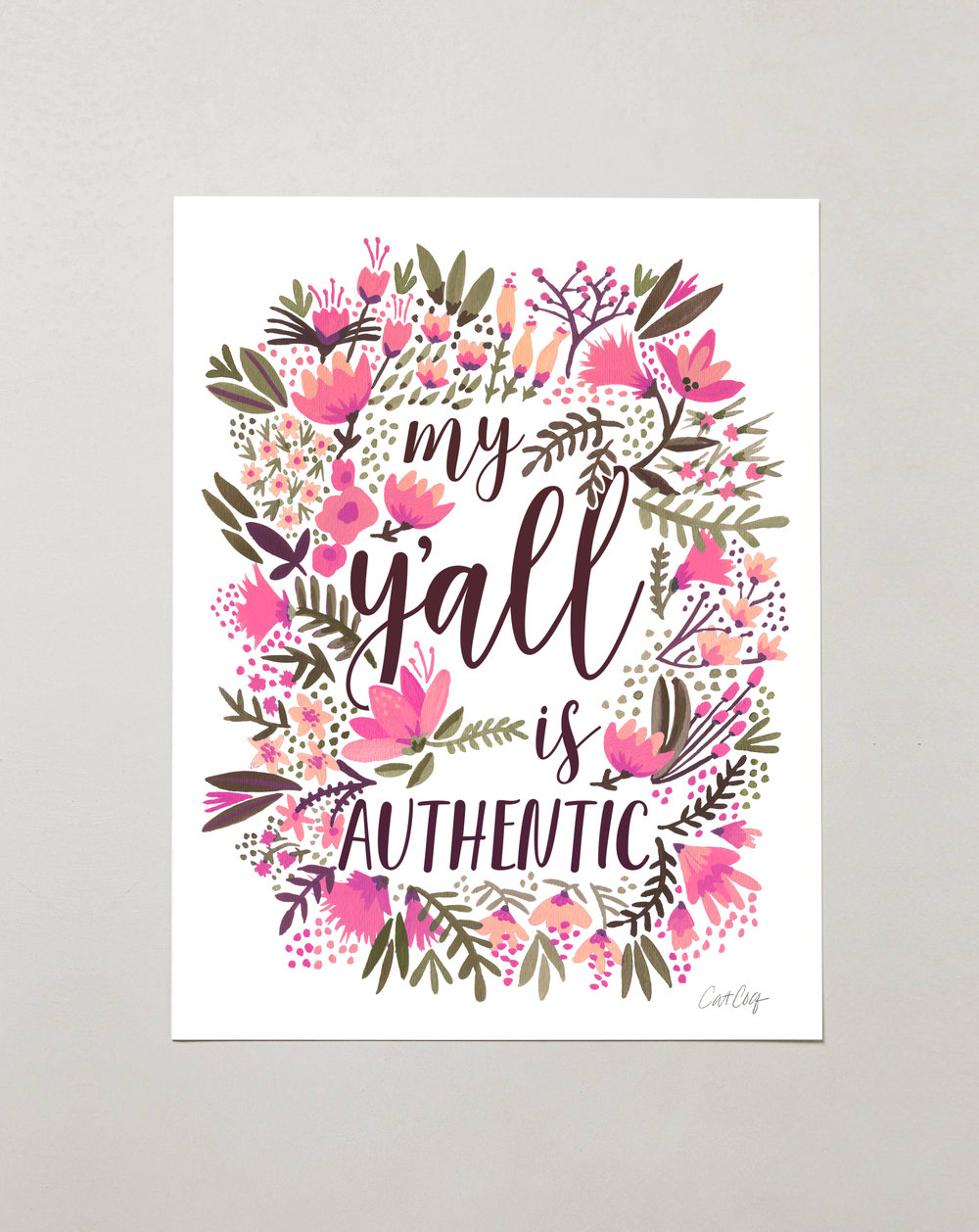 My Ya'll is Authentic – Vintage Palette  •  $15