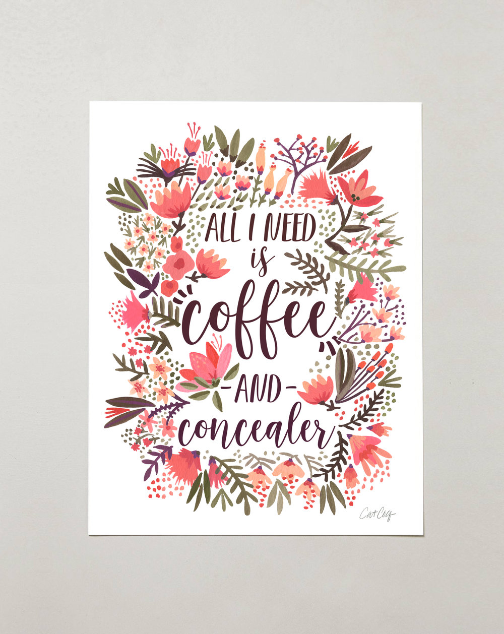 Coffee & Concealer – Vintage  Palette