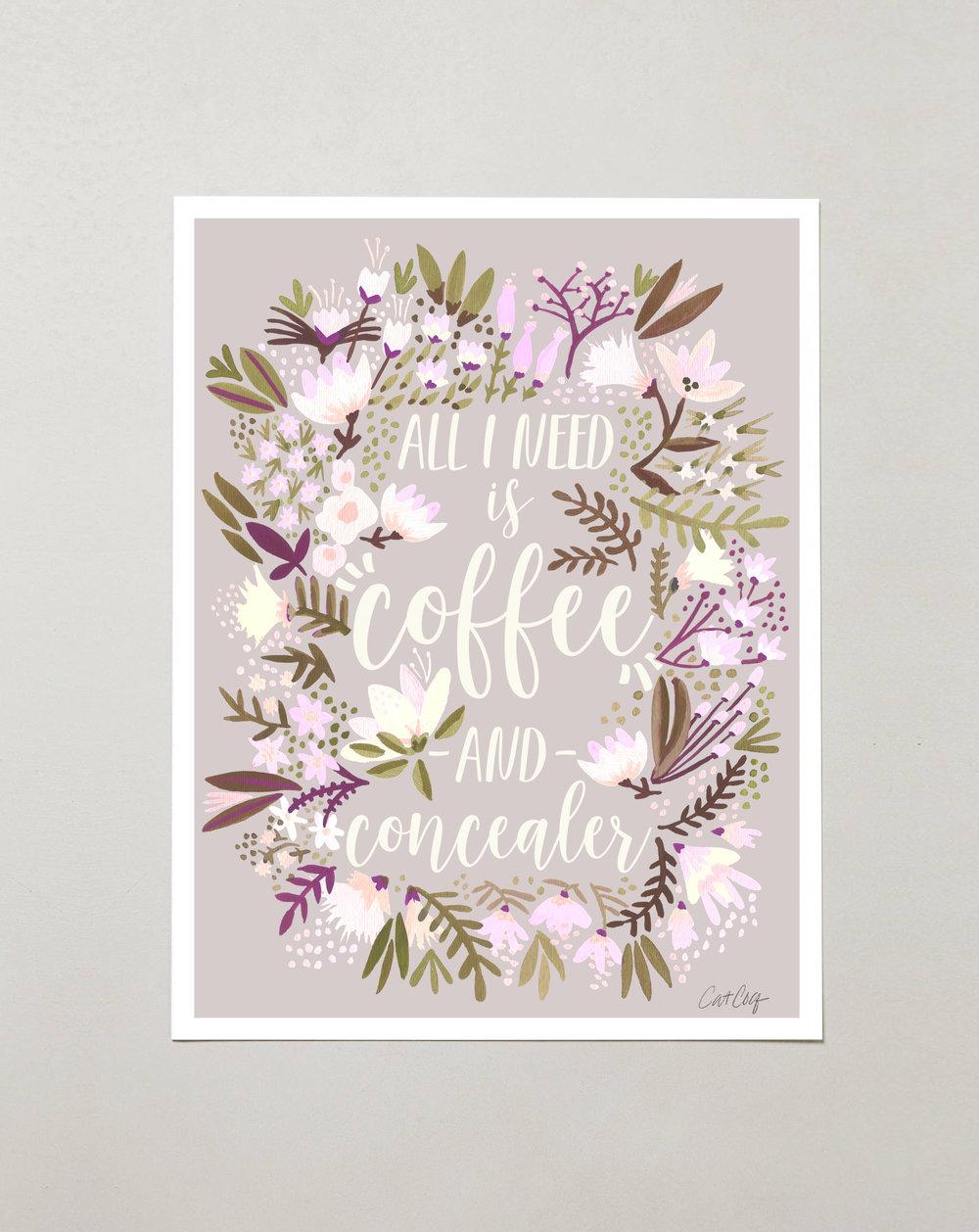 Coffee & Concealer – Spring  Palette