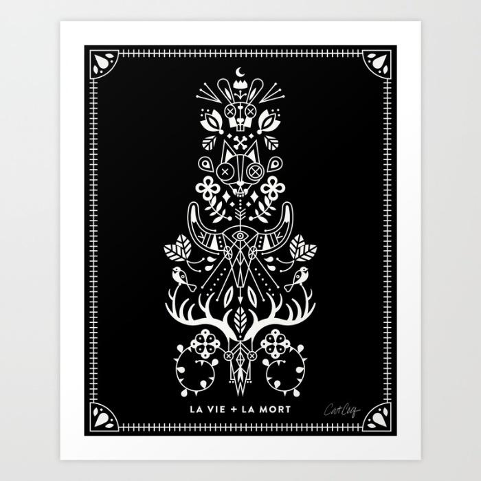 la-vie--la-mort-white-ink-prints.jpg