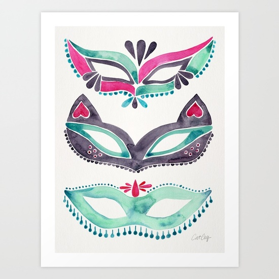 masquerade-mask-trio-pink-mint-palette-prints.jpg