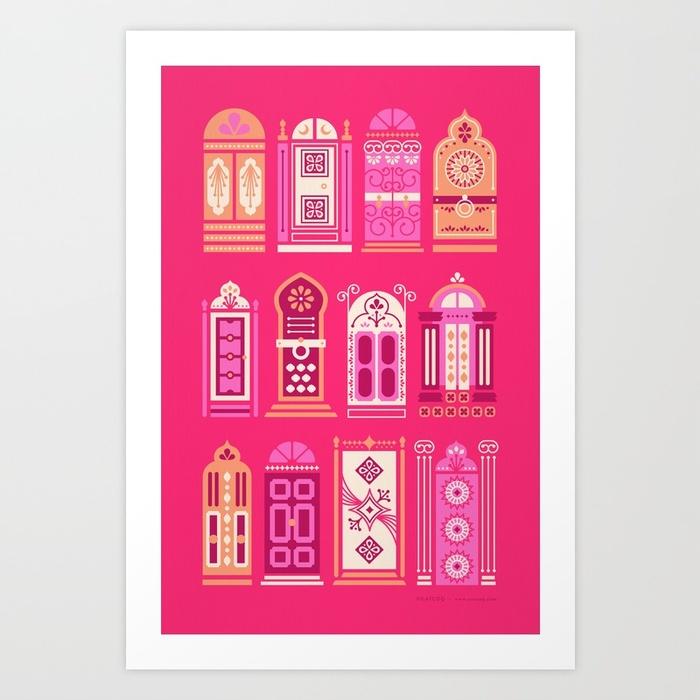 moroccan-doors-pink-palette-prints.jpg