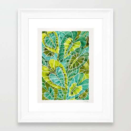 schismatoglottis-calyptrata-green-palette-framed-prints.jpg