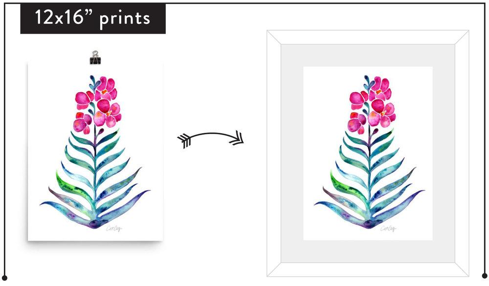 Tips For Framing Artwork Choosing Frames Matting And Sizes For