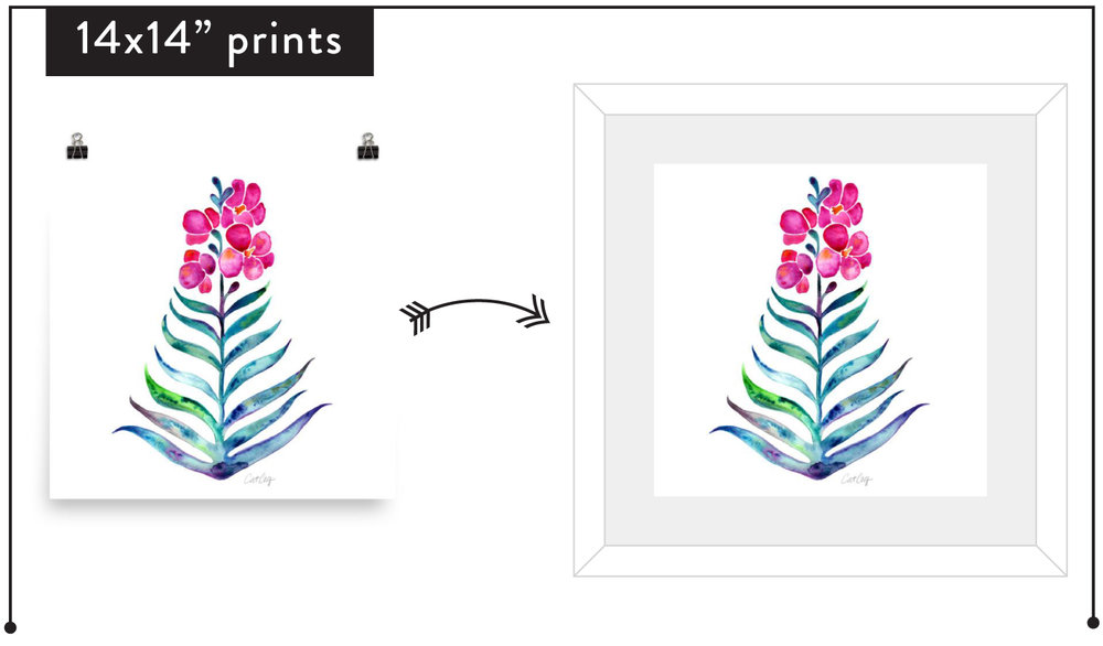 Tips for Framing Artwork – Choosing Frames, Matting, and Sizes for ...