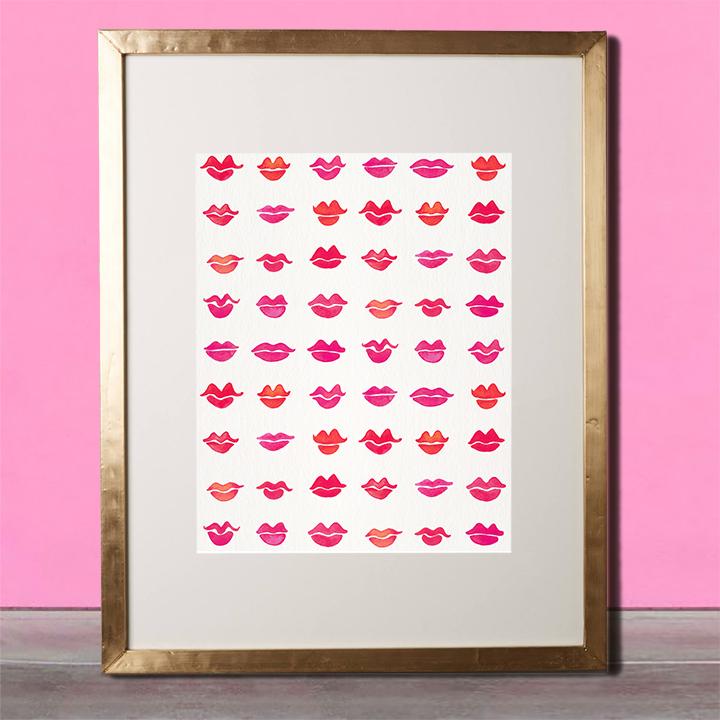 Kisses-PinkFrame.jpg