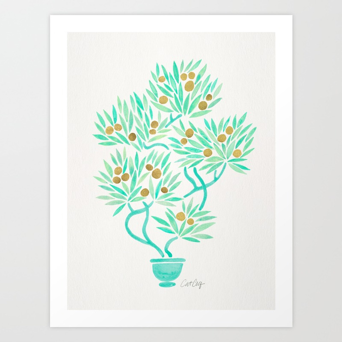 bonsai-tree-mint-gold-prints.jpg