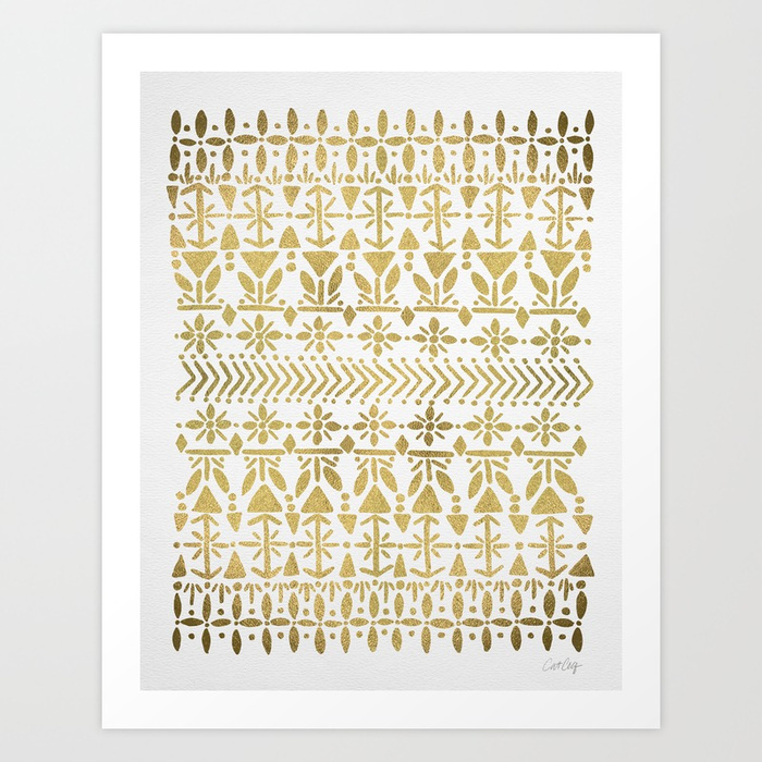 norwegian-pattern--gold-on-white-prints.jpg