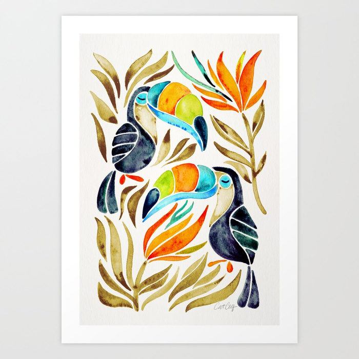 tropical-toucans-sepia-palette-prints.jpg