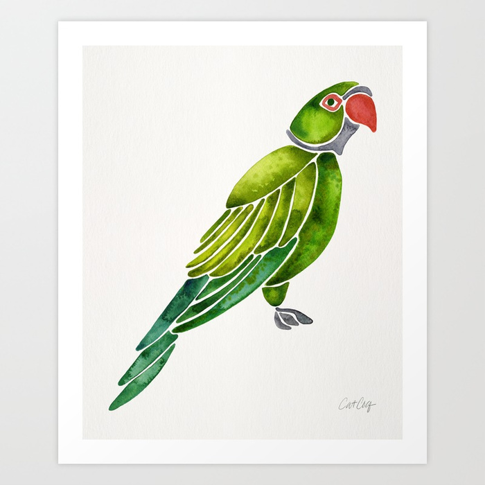 perched-parrot-green-palette-prints.jpg