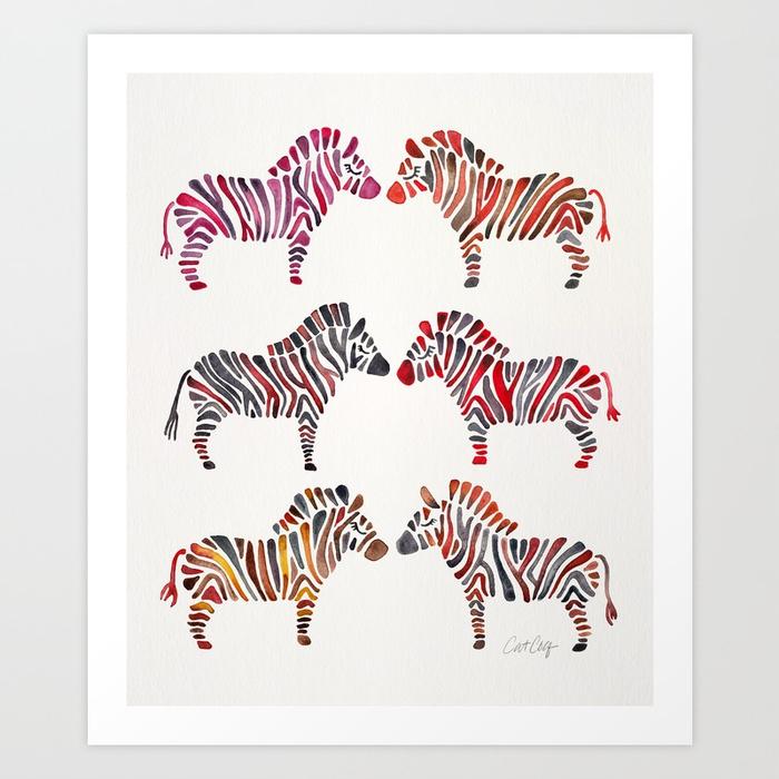 zebras-rainbow-palette-prints.jpg