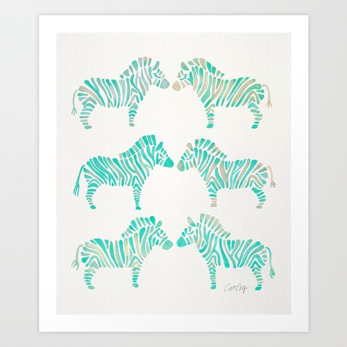zebras-mint-palette-prints.jpg