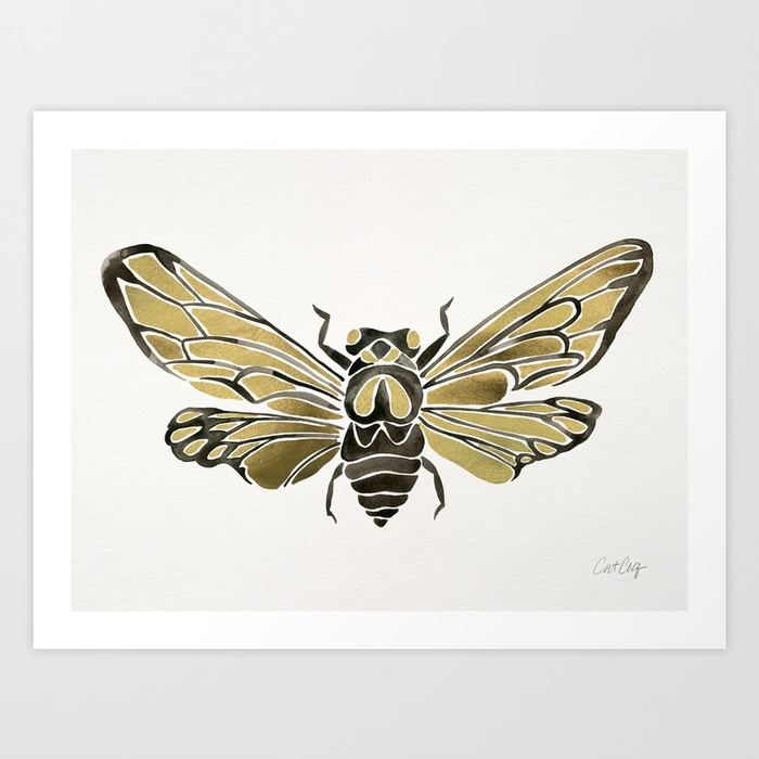 summer-cicada-black-gold-palette-prints.jpg