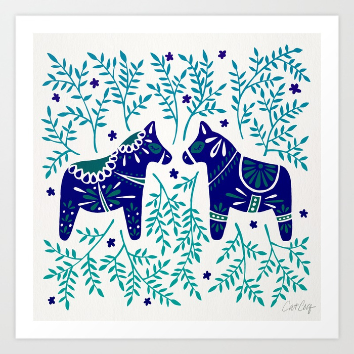 swedish-dala-horses-navy-blue-palette-prints.jpg