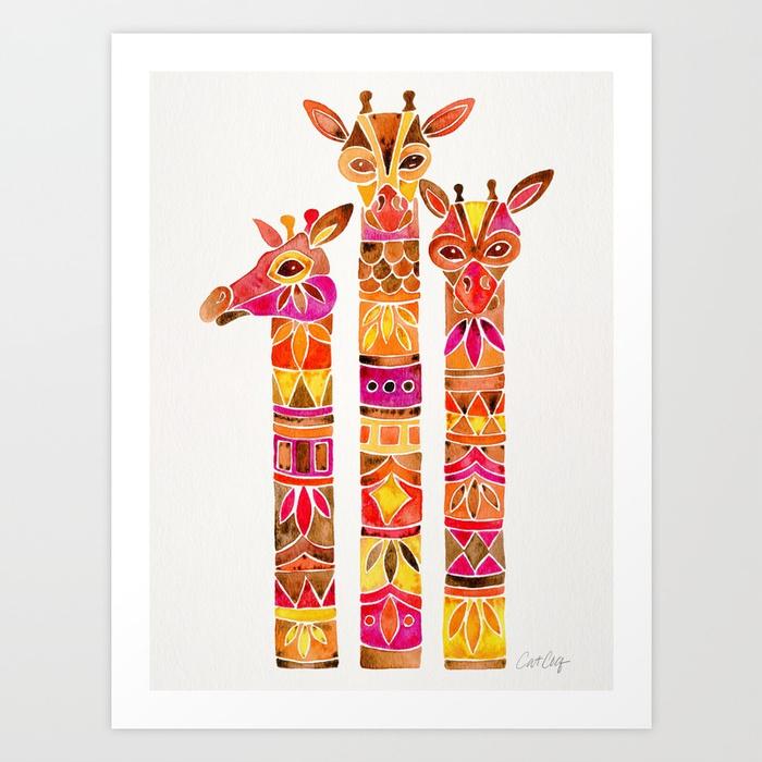 giraffes--fiery-palette-prints.jpg