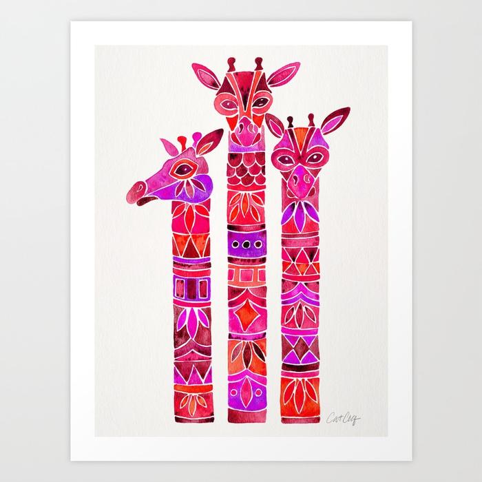giraffes--magenta-ombr-74u-prints.jpg