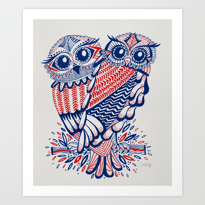 owls--red--navy-prints.jpg