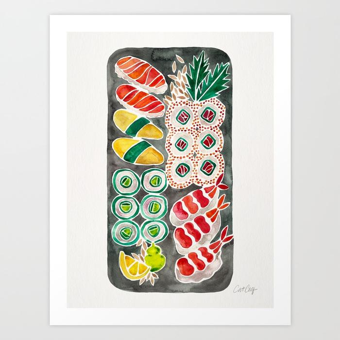 sushi-collection-black-platter-prints.jpg