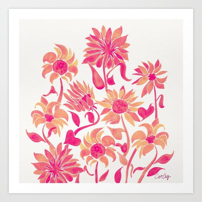 sunflower-watercolor-pink-palette-prints.jpg