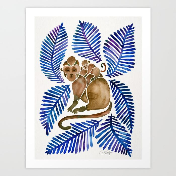 monkey-cuddles-navy-leaves933191-prints.jpg