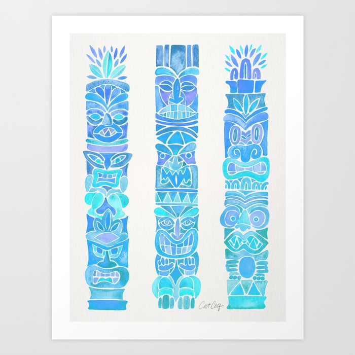 tiki-totems--turquoise-palette-prints.jpg