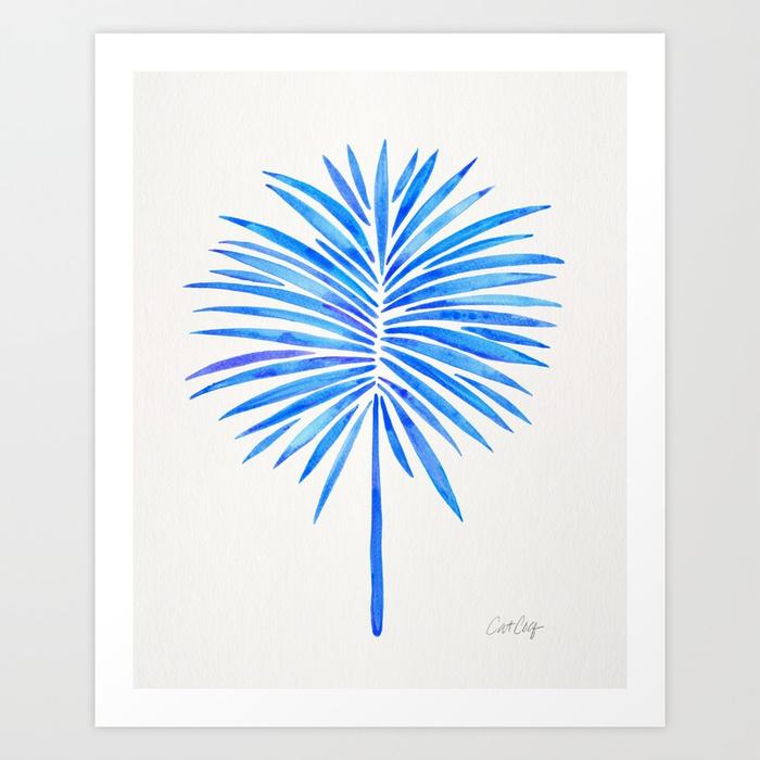 tropical-fan-palm-blue-palette-prints.jpg
