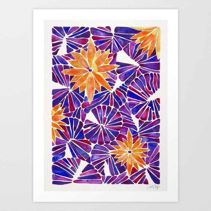 water-lilies-purple-orange-palette-prints.jpg