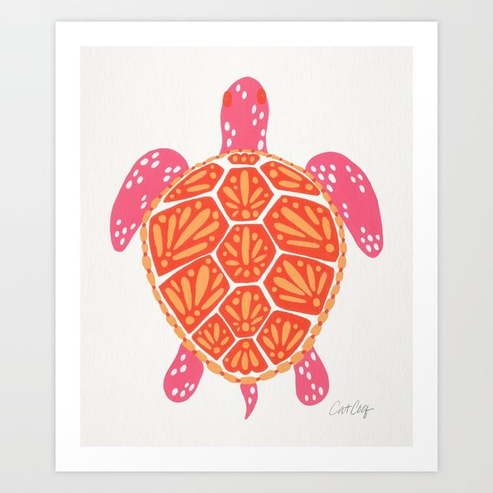 sea-turtle-melon-palette-prints.jpg