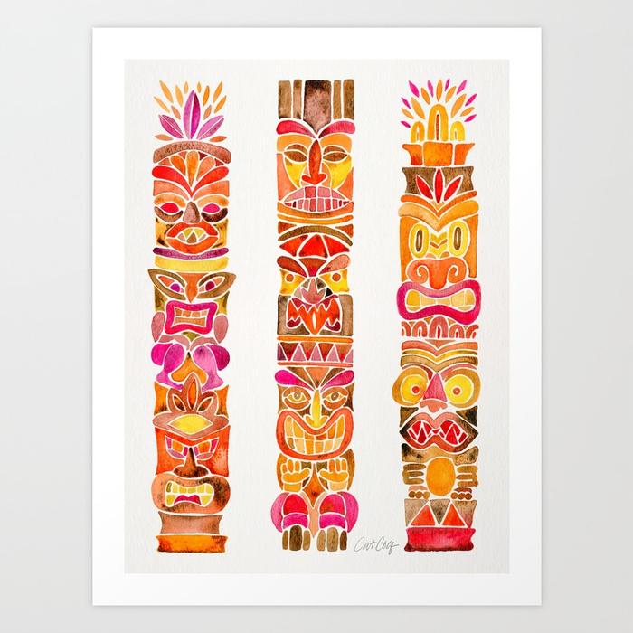 tiki-totems--fiery-palette-prints.jpg