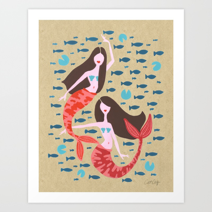 mermaids-on-kraft-prints.jpg