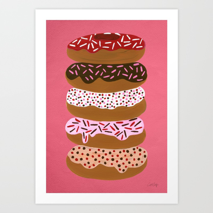stacked-donuts-on-cherry-prints.jpg