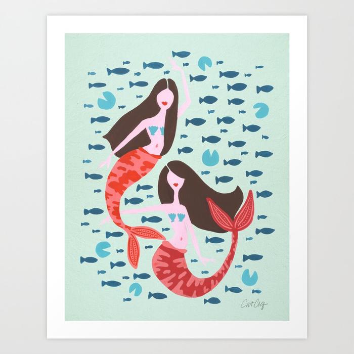 koi-mermaids-on-mint-prints.jpg