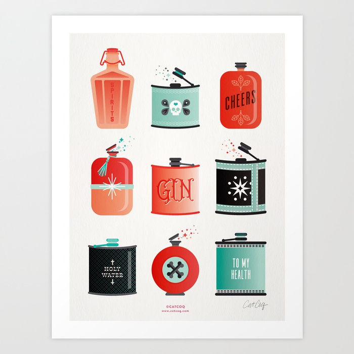 flask-collection-red-turquoise-palette-prints.jpg